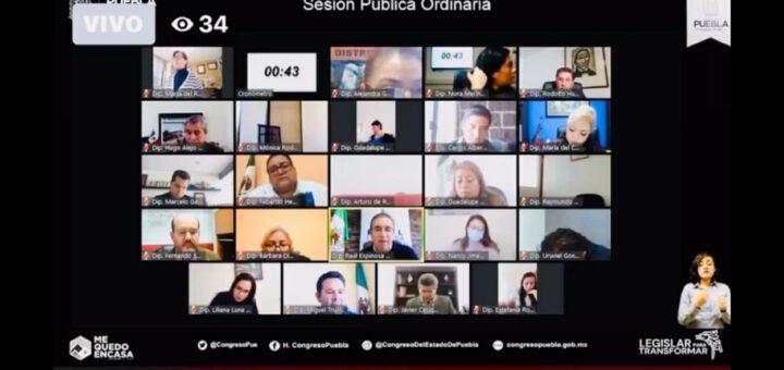 sesiones ordinarias virtuales